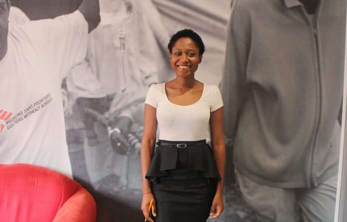 First-time fieldworker Talia Zongia grew up through war and conflict in the DRC. She sees working with MSF as her opportunity to help make the world a better place