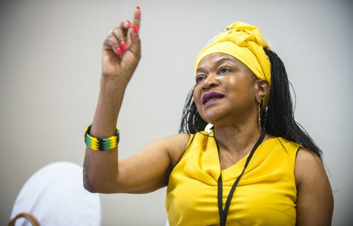 Disappointed: ANC branches could still nominate party chair Baleke Mbete as a presidential candidate.