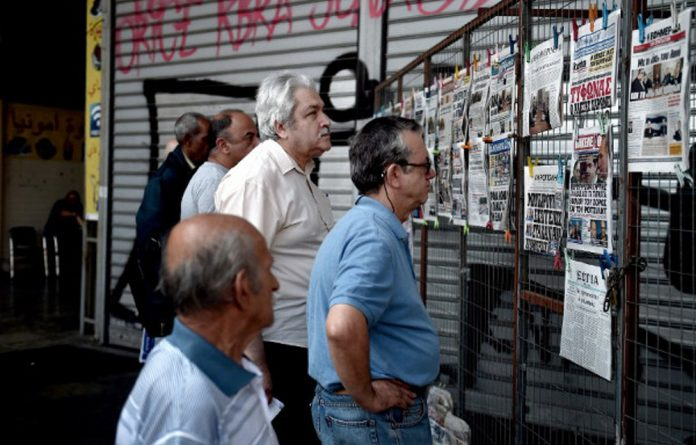 Small and medium enterprises in Greece are feeling the brunt of the financial crisis.