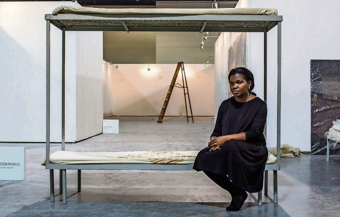 Turiya Magadlela insists that she does not make social or political commentary in her art