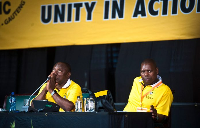 ANC secretary general Zweli Mkhize is one of the top contenders for the party's leadership.