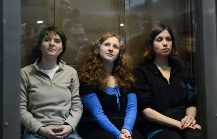 Pussy Riot members