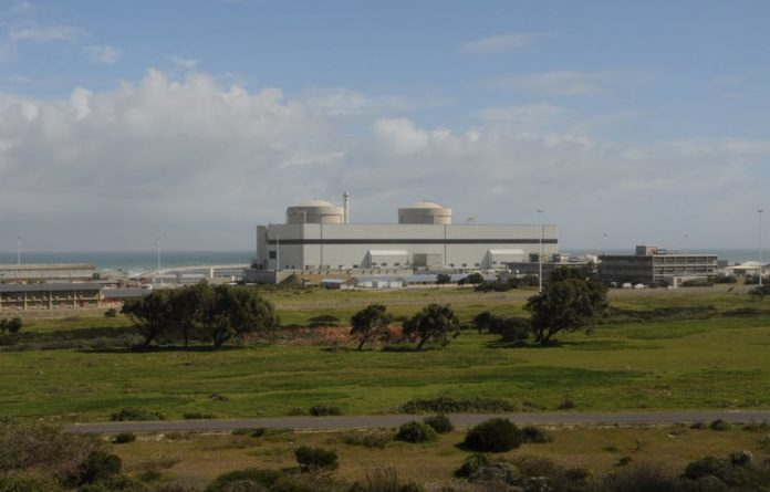 Koeberg Nuclear Power Plant.