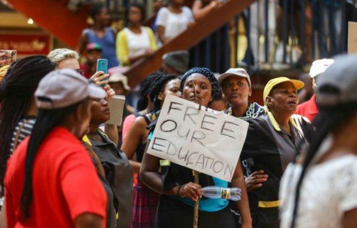 No joke: President Jacob Zuma can't laugh off the fact that he got a cross-class and cross-race klap.