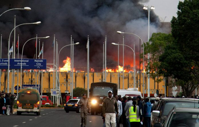 A serious fire has broken out at Kenya's international airport.