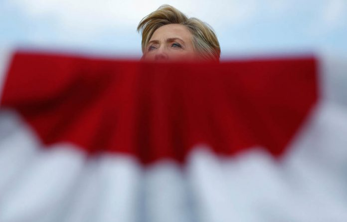 Democratic presidential hopeful Hillary Clinton is likely to benefit from Donald Trump's fall from grace