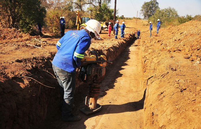 Khato Civils and South Zambezi Engineering Services collaborative pipeline projects