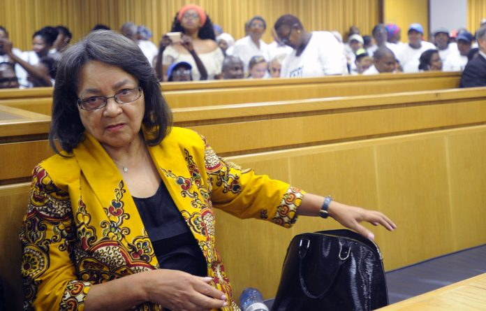 Patricia de Lille was arguing that the court should grant a secret ballot in a vote of no confidence brought against her by the DA