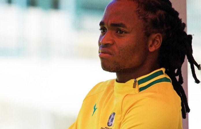 Bafana Bafana midfielder Siphiwe Tshabalala.