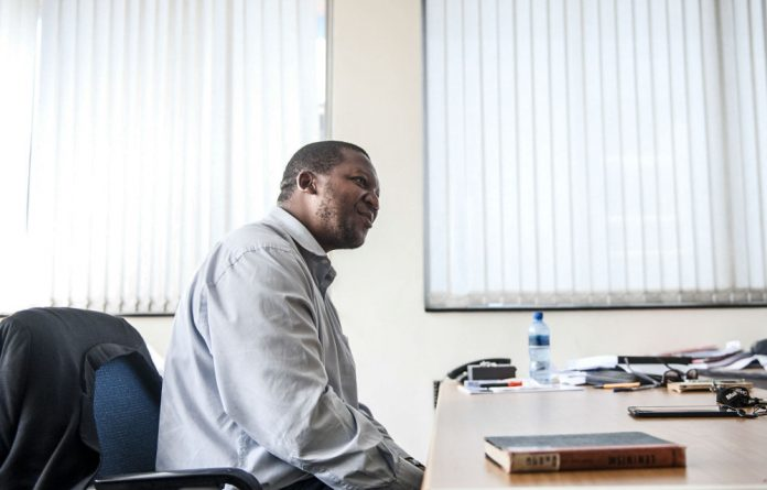 Tragicomic distraction: Professor Chris Malikane is not being taken seriously by Finance Minister Malusi Gigaba.