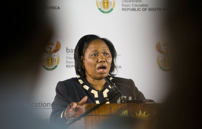 "Basic Education Minister Angie Motshekga ""cannot reopen issues that have already been determined by the high court"