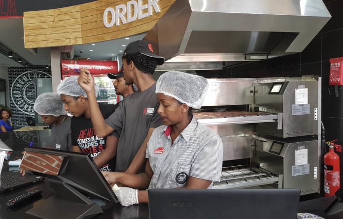 Slice of the action: Pizza Hut is embarking on an aggressive push to conquer the African market.
