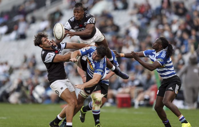 S'bu Nkosi has been a standout player for the Sharks this season.