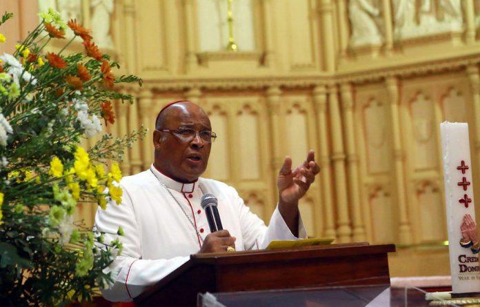 Cardinal Wilfrid Fox Napier.