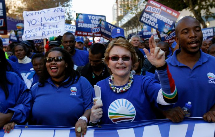 Helen Zille is confident that she still retains much support.