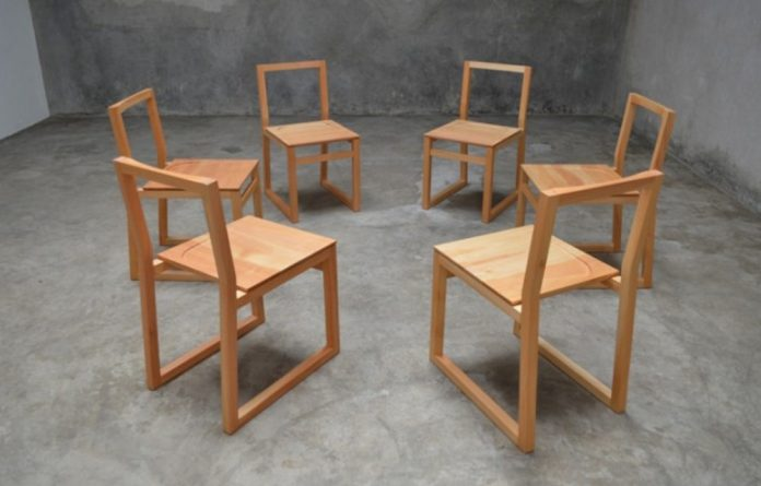 The Sledge Chair is one of the pieces made by designers