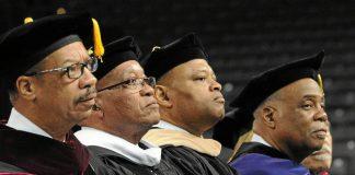 Handy cap: President Jacob Zuma