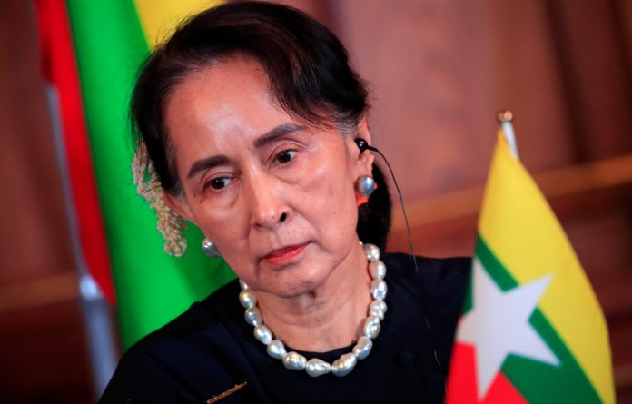 Amnesty said it informed the 73-year-old of the decision on Sunday. She has so far issued no public response.