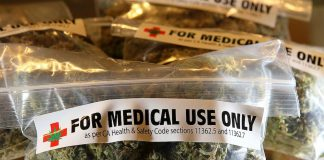 Just what the doctor ordered: The one-ounce bags available at the Berkeley Patients Group in California.