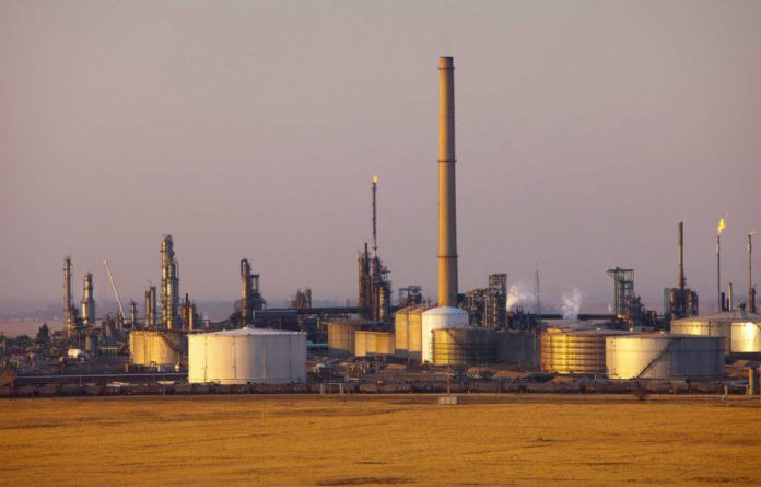 Sasol's Natref plant in Sasolburg. This is the second time the company has been censured for overcharging the public.