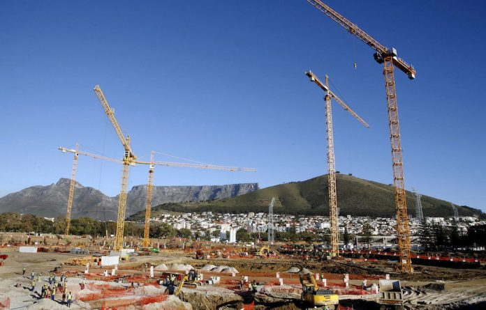 Cracking cartels: The Competition Tribunal penalised construction firms for colluding on contracts to build 2010 Fifa World Cup stadiums such as the Cape Town Stadium.