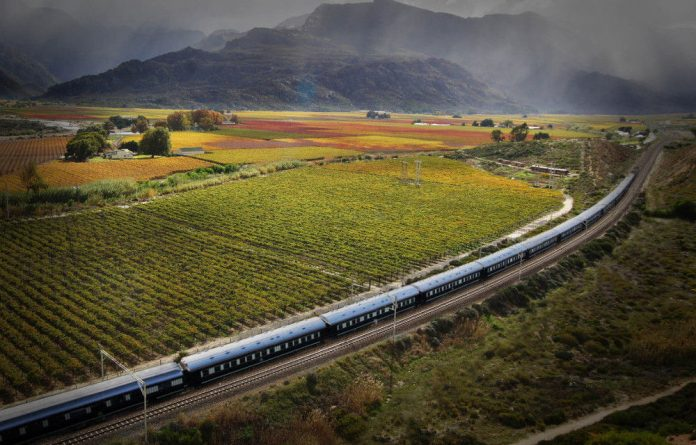 Doing the wine route by luxury train.