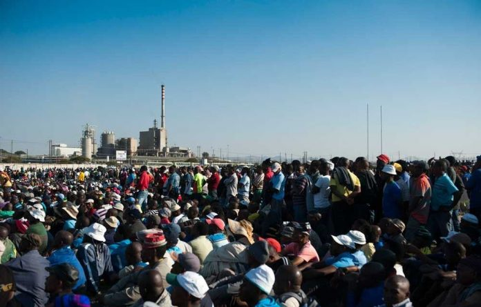 Labour unrest has been cited as one of the reasons for the downgrades.