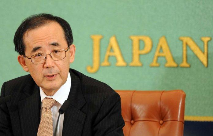 Bank of Japan Governor Masaaki Shirakawa.