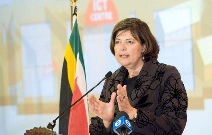 Gauteng finance MEC Barbara Creecy.