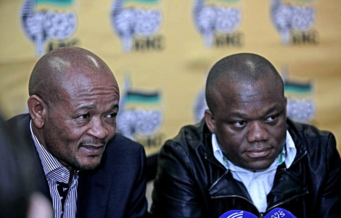 Former and current ANC KwaZulu-Natal chairs Senzo Mchunu and Sihle Zikalala have spoken about the infighting in provincial structures.