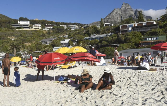 Site of struggle: Cape Town mayor Dan Plato fell for racist scare-mongering in posing his questions about the confrontation at Clifton's fourth beach.