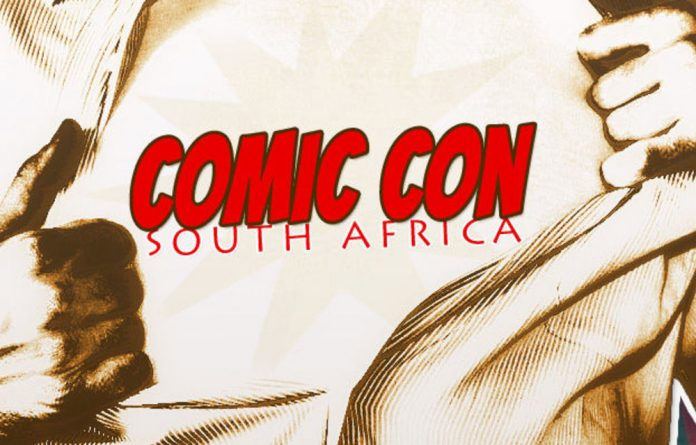 Comic Con South Africa's poster.