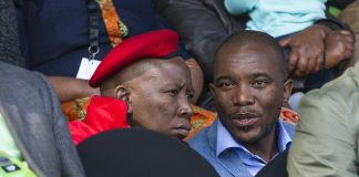 Malema said the DA also could not meet their demands. He said the DA had said it did not have powers to expropriate land.