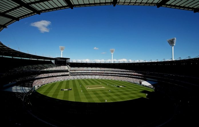 The Melbourne Cricket Ground where South Africa's much anticipated clash with India takes place – and where the World Cup final will be played.