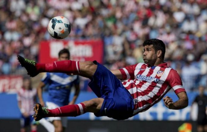 Diego Costa is a beast on the football field