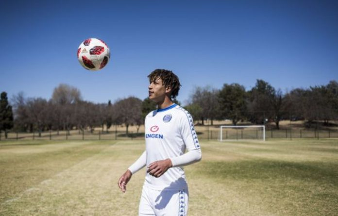 Young blood: Luke Fleurs moved to Supersport United