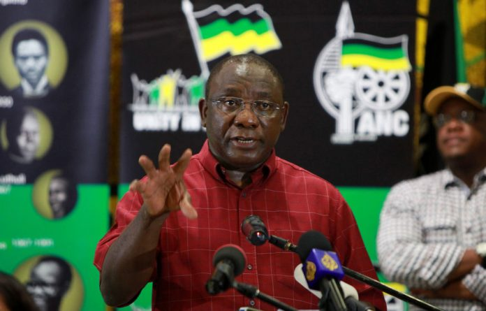 Cyril Ramaphosa said he is willing to make a contribution to some of the relevant issues in the Marikana commission.