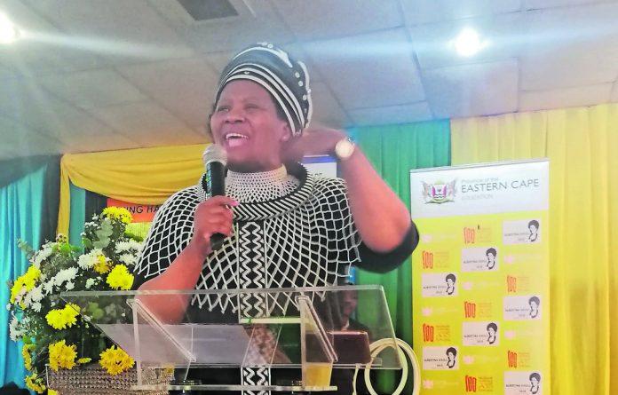 Education policy specialist Naledi Mbude