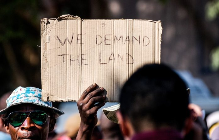 We won't fall: Residents of Hammanskraal resist forced evictions from land they occupied.