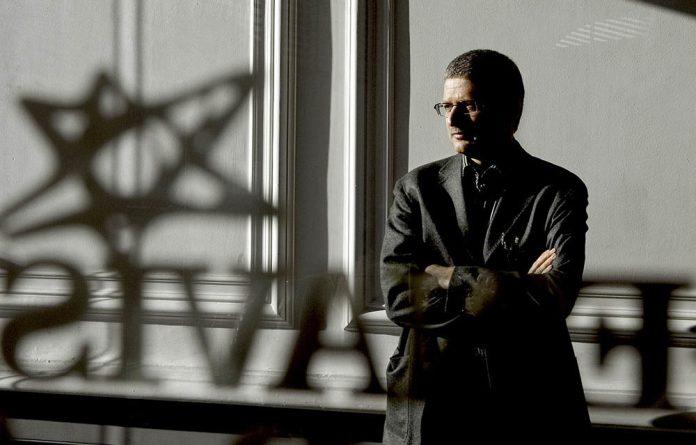Jyllands-Posten's Flemming Rose in his office in Denmark on February 9 2006.