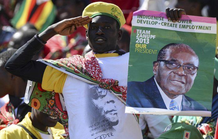 Yesterday's man: Robert Mugabe