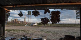 Bleak outlook: A spaza shop in Nkaneng