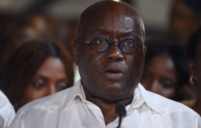 President Nana Akufo-Addo was voted into power in 2016 on a pledge to revamp Ghana's economy after it had to turn to the IMF for a bailout the year before.