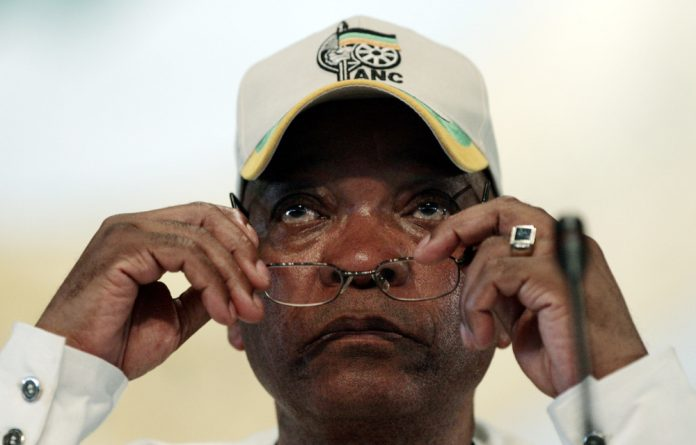 President Jacob Zuma called on party members