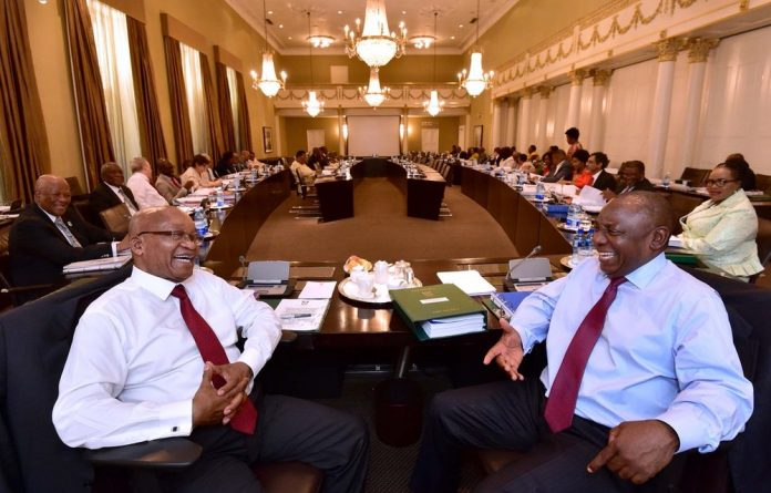 Ramaphosa said the direct discussions with Zuma would lay the basis for a speedy resolution