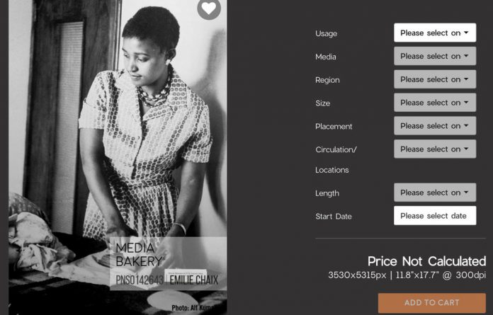 History for sale: Images such as these of Winnie and Nelson Mandela