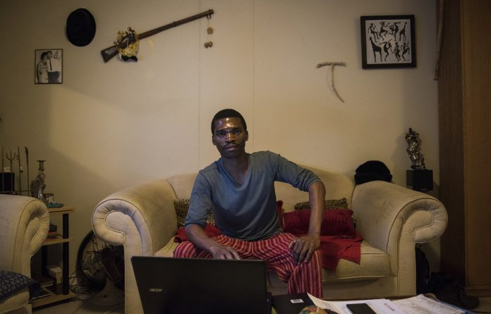 Whose copyright is it anyway? Sinethemba Twani is a playwright who works as a petrol attendant to pay the bills. He claims that a TV drama series bears an uncanny resemblance in content and title to one of his performed scripts. Photo: David Harrison