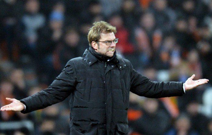 Dortmund coach Jurgen Klopp.