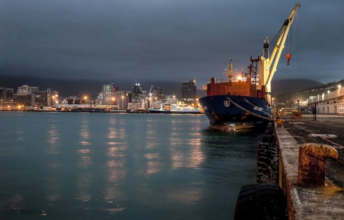 Dangerous cargo: Container ships account for a large percentage of nitrogen oxide