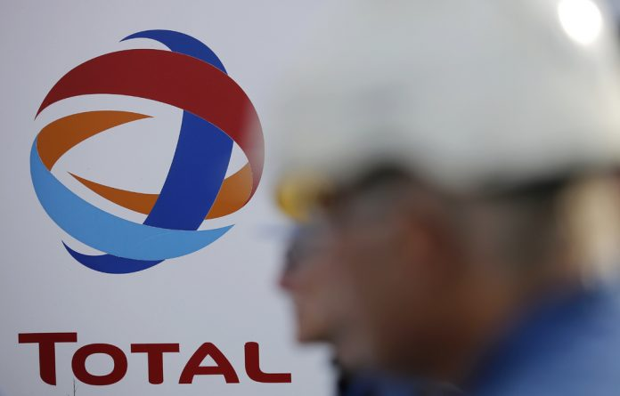 Total holds a 45% stake in the block